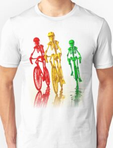 Bones on bikes tee and iphone case Unisex T-Shirt