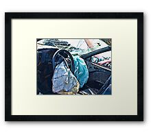 Life of a car in HDR 3 Framed Print
