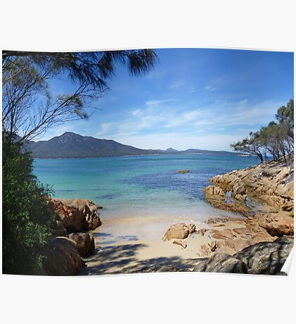 Tucked Away At Promise Bay  Poster