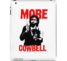 More Cowbell T-Shirt iPad Case/Skin