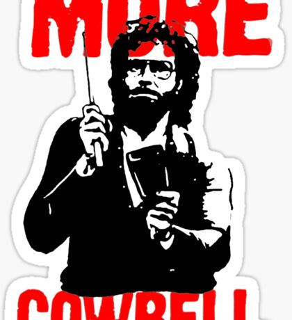 More Cowbell T-Shirt Sticker