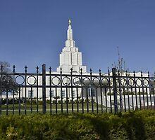 Mormon Temple - Idaho Falls (a) by IMAGETAKERS