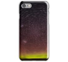 Aurora Aus Star Trail  iPhone Case/Skin