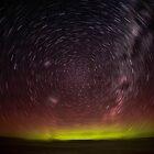Aurora Aus Star Trail  by LJ_©BlaKbird Photography