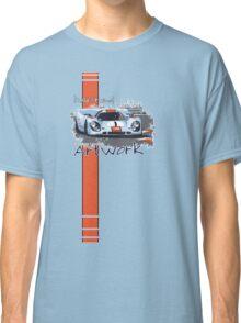 Gulf Porsche Motorsport Artwork Classic T-Shirt