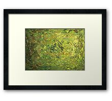 Hiding in the  Thicket Framed Print