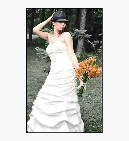 Lovely Bride Photographic Print