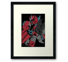 keep your chin up Framed Print