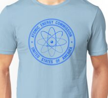 Atomic Energy Commission #3 (Blue) Unisex T-Shirt