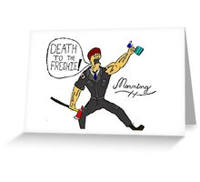 The Epic of Morning Greeting Card