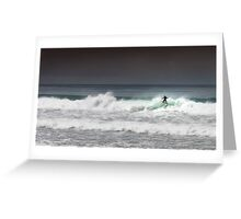 The Break at Wye River Greeting Card