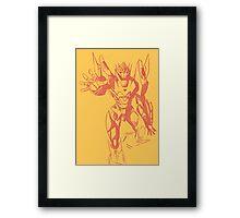 Rodimus sketch Framed Print