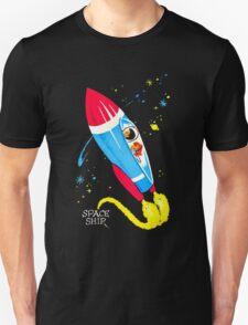 Retro Space Ship Kids T-Shirt