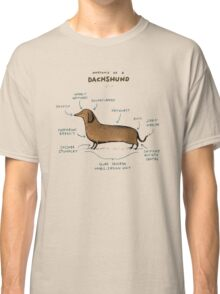 Anatomy of a Dachshund Classic T-Shirt