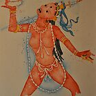 Vajrayogini, the Tibetan Buddhist Dakini Goddess by Sophie Jane Mortimer
