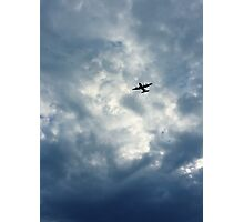 Above and Beyond Photographic Print