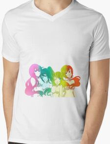 Vocaloid Seasons Mens V-Neck T-Shirt