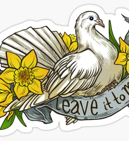 Leave it to Me Sticker