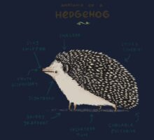 Anatomy of a Hedgehog One Piece - Long Sleeve