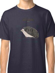 Anatomy of a Hedgehog Classic T-Shirt