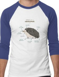 Anatomy of a Hedgehog Men's Baseball ¾ T-Shirt