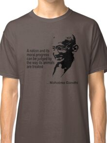 Gandhi Animal Rights T-Shirt Classic T-Shirt