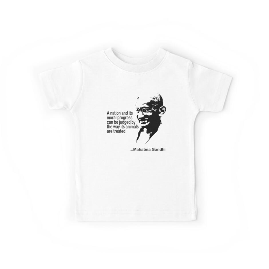 Gandhi Animal Rights T-Shirt by T-ShirtsGifts