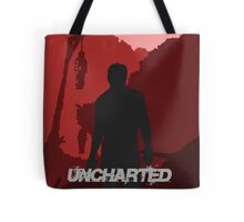 UNCHARTED - Red silhouette.  Tote Bag