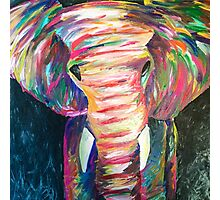 abstract elephant Photographic Print