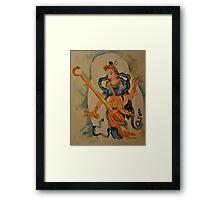 Saraswati: Goddess of Wisdom Framed Print