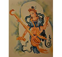 Saraswati: Goddess of Wisdom Photographic Print
