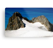 Dachstein Glaciers Metal Print