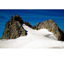 Dachstein Glaciers Photographic Print