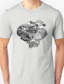 """Middle Earth """"New Zealand"""" T-Shirt"""