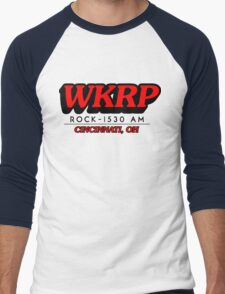 WKRP In Cincinnati T-Shirt Men's Baseball ¾ T-Shirt