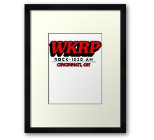 WKRP In Cincinnati T-Shirt Framed Print