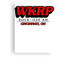 WKRP In Cincinnati T-Shirt Canvas Print