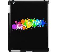 Born Artists - White Version iPad Case/Skin