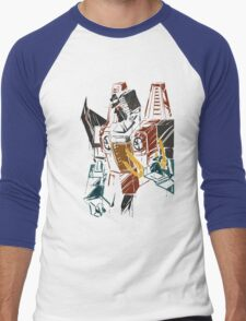 Starscream sketch Men's Baseball ¾ T-Shirt