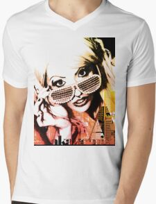 Fashion Barbie meets Akademi by Akademi Apparel Mens V-Neck T-Shirt