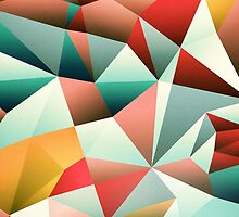 Modern Abstract Geometric Pattern by sale
