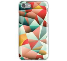 Modern Abstract Geometric Pattern iPhone Case/Skin