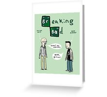 Breaking Bad Greeting Card