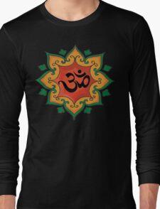 """Om"" India, Hindu, Hinduism T-Shirt Long Sleeve T-Shirt"