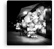 Vietnam - Lanterns in Hoi-Ann Canvas Print