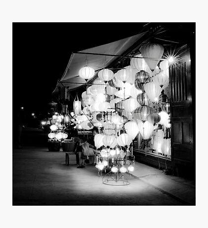 Vietnam - Lanterns in Hoi-Ann Photographic Print