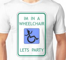 I brought my own chair! Unisex T-Shirt