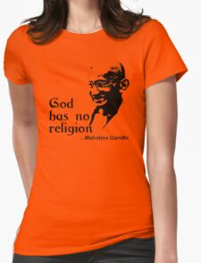 "Gandhi ""God Has No Religion"" T-Shirt T-Shirt"