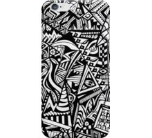 A busy town iPhone Case/Skin