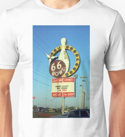 Route 66 Bowl Unisex T-Shirt